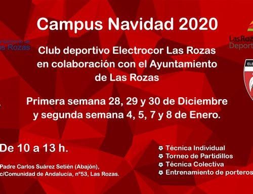 Campus de Navidad 2020 Inscripciones Abiertas