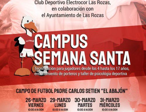 Campus de Semana Santa 2021 Plazas agotadas